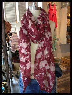 Envy Boutique in Huntsville Crimson Tide Scarf - $21.
