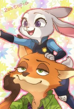 Collection of paintings on the theme: Zootopia. The images are taken from a variety of sources, and are not always listed author of the picture. Zootopia Fanart, Zootopia Comic, Nick Wilde, Disney Zootropolis, Cute Disney, Neko, Zootopia Nick And Judy, Space Cat, Cute Pokemon