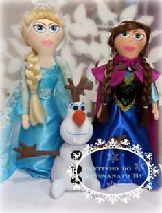 Cantinho do Artesanato by: FROZEN ....