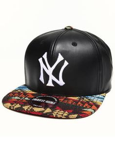 New York Yankees Sleek Strapback Hat by American Needle @ DrJays.com