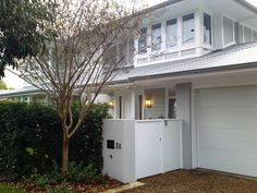 Stunning Exterior Decor Ideas Home is where the heart is. A throw back to one of our projects from a few years ago. House design by Alex Stritt. Construction Thank you @ strittdesignandconstruction for thisRead More Modern Exterior Design White Exterior Paint, House Paint Exterior, Modern Exterior, Exterior Design, Facade House, House Facades, House Exteriors, Coastal Homes, House Front