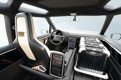 VW Berlin Taxi Concept Interior