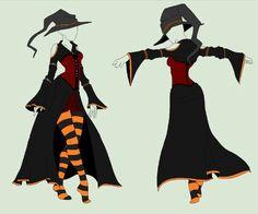 Vestido bruja