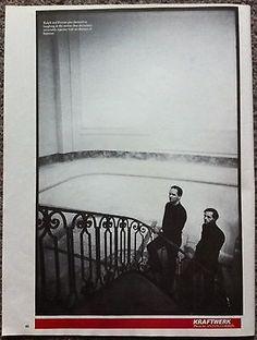 KRAFTWERK - 1981 full page magazine poster