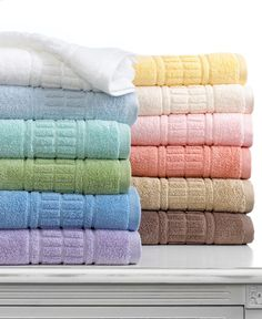 Martha Stewart Collection Bath Towels, Plush Collection - Bath Towels - Bed & Bath - Macys #macysdreamfund