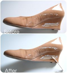 Find out how to remove scuff stains from patent leather easily and safely!
