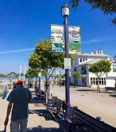 Eureka California Board Walk. Old Town Eureka