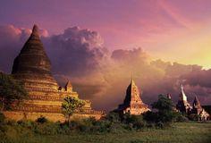 katiekashmir:  Bagan Temples, Burma (Myanmar)