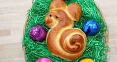 Húsvéti nyuszi zsömle Nutella, Eggs, Minden, Breakfast, Food, Morning Coffee, Essen, Egg, Meals