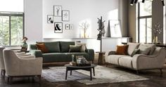 2018 Salon Dekorasyonu Tasarımları Home Modern, Couch, Furniture, Home Decor, Trendy Tree, Living Room, Homemade Home Decor, Sofa, Sofas