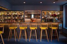 One Leicester Street hotel by Universal Design Studio, London hotel hotels and restaurants Bar Interior, Interior Exterior, Interior Design, Design Design, Leicester, Design Studio London, London City Guide, Oak Parquet Flooring, Pizzeria
