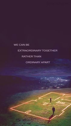 """We can be extraordinary together rather than ordinary apart"" - Meredith Grey Greys Anatomy Frases, Grey Anatomy Quotes, Grays Anatomy, Tv Show Quotes, Movie Quotes, Citation Grey's Anatomy, Beautiful Words, Beautiful Day, Meredith And Derek"