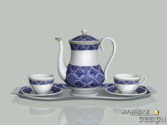 NynaeveDesign's Porcelain Teapot