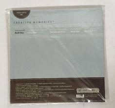 New Creative Memories Paper Album Kit Rock Star #CreativeMemories