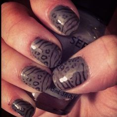 I'd love to do this to my nails
