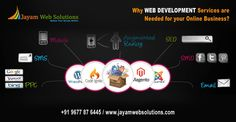 Being top Web Development Company in India we tend to deliver noteworthy services improving your brand reputation at a very inexpensive market level