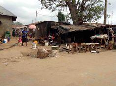 Market scene, Ushafa Village, FCT, Abuja, Nigeria. #JujuFilms