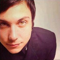 Frank <3333<< his eyes are everything.. so is his smile and his face and everything that is Frank Iero