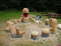 Spielplatz Waldspielplatz Volksdorfer Wald in Hamburg | spielplatznet.de