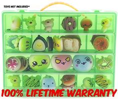 Life Made Better Toy Organizer. Fits Up to 30 Squishy Phone Charms. Compatible With Ithee Charm Keychain, Random Jumbo Mini Soft Squishy, Trasfit Phone Charm Key Chain Strap- Green >>> Read more  at the sponsored product link.