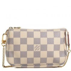 5f9e705a9144 LOUIS VUITTON Damier Azur Mini Pochette Accessories  Louisvuittonhandbags