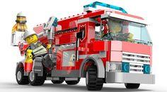 Lego firetruck