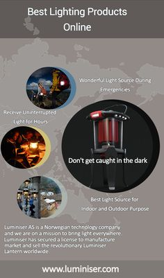 Are you looking for the best LED camping lights for tents? Luminiser is the best among all lantern lights for hassle-free camping without relying on batteries. Lighting Products, Cool Lighting, Norway, The Darkest, Indoor, Technology, Interior, Tech, Tecnologia