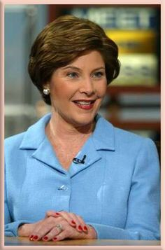 Laura Bush, who once bravely said she supported gay equality, now says she wants nothing to do with the cause of gay marriage.  Shame on you, Mrs. Bush!