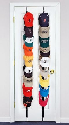 "Target Hat Rack Diy ""over The Door"" Hat Rack* I Recently Pinned Something Similar"