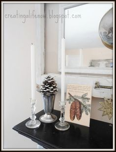 Creating A Life: The Faux Fireplace Mantel