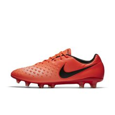 online store d7fe7 10c7c Nike Magista Opus II Firm-Ground Soccer Cleats Size 10.5 (Red) - Clearance