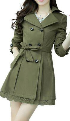 Long Cape Wool Coat / Women Wool Winter Coat Jacket / Women Trench Wool Coat Jacket Sku1051 on Etsy, $62.00