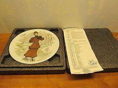 vintage Limoges limited edition plate Ganeau (Colette)