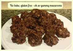 No Bake, Gluten Free Oh So Yummy Macaroons - Almost Supermom