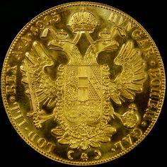 UNC LARGE  GOLD DUCAT 1915 40MM DIAM  CO 601