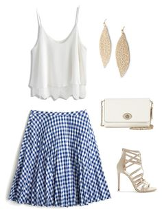 """""""Untitled #885"""" by netteskytte on Polyvore featuring J.Crew, Chicwish, Coach, Express and Tamara Mellon"""