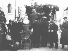 March 1943 - Bulgarian authorities round up Jews in occupied Macedonia (Yugoslavia) for deportation. They were first held in a camp in Skopje and then deported to the Treblinka extermination camp in German-occupied Poland.