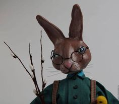 Easter bunny, Rabbit, Easter, Art doll, Inerior Doll, Hand Painted Art Sculpted Doll, Paperclay Art Doll, OOAK Doll Easter Art, Easter Bunny, Ooak Dolls, Art Dolls, Anime Date, Paperclay, Hand Painting Art, Bunny Rabbit, Sculpting