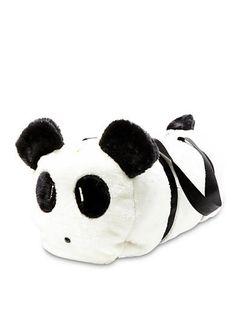 A massive panda gym bag.