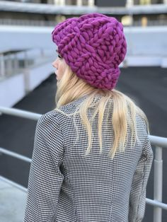 Excited to share the latest addition to my #etsy shop: Helsinki Hat, Super chunky beanie hat Chunky Hat, Super Bulky Hat, Knit Hat. Merino wool. Best Price. Color of the year. GREENERY