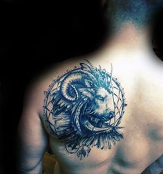 100 Ram Tattoo Designs For Men – Bighorn Sheep Ink Ideas Dreamcatcher Ram Mens Shoulder Blade Tattoo Aries Symbol Tattoos, Aries Ram Tattoo, Zodiac Tattoos, Retro Tattoos, Trendy Tattoos, Wrist Tattoos For Guys, Cool Tattoos For Guys, Design Tattoo, Tattoo Designs Men