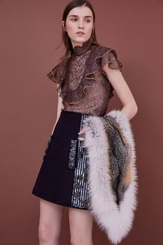 J. Mendel Pre-Fall 2018 Fashion Show Collection