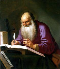 Lambert Jacobsz - Saint Paul the Hermit, ca. 1620s