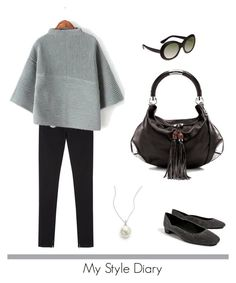 """""""My Style Diary"""" by jane-doe-1977 ❤ liked on Polyvore featuring Vanessa Bruno Athé, Oliver Goldsmith, Gucci and Giorgio Martello"""