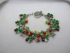 LADY BUG LADY BUG - Jewelry creation by Linda Foust