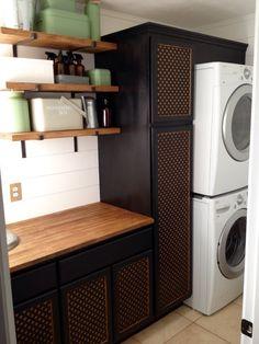 My modern farmhouse laundry room.