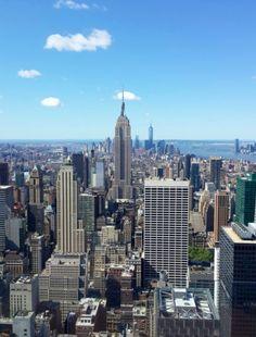 Top of The Rock Observation Deck in New York, NY