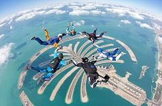 Skydiving over Dubai. Does life get better??