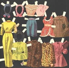BETTY GRABLE PAPER DOLLS 1946 | eBay