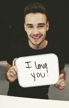 I love you too Liam, I love you too.